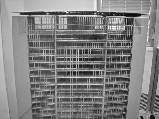 Milano - Belvedere 31° piano Grattacielo Pirelli - modellino.3