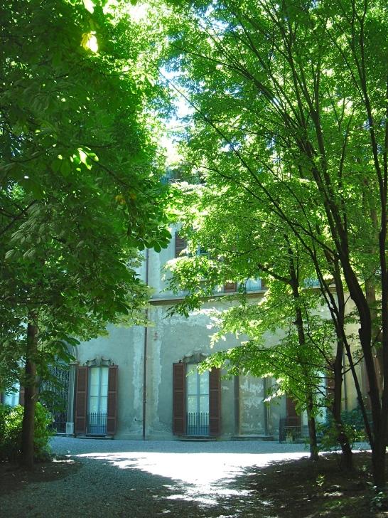 MIlano - Palazzo Cicogna Mozzoni - Cortili Aperti 2013 - giardino
